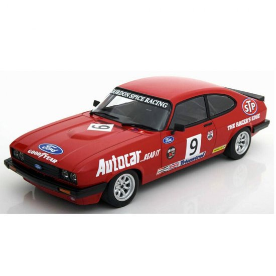 Miniatura Carro Ford Capri 3.0 - #9 Gordon Spice Group (1978) - 1:18 - Minichamps