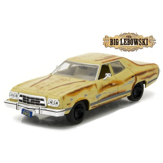 Miniatura Carro Ford Gran Torino The Dude's (1973) - Big Lebowski - 1:43 - Greenlight