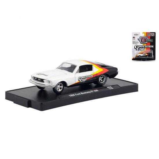 Miniatura Carro Ford Mustang GT 390 (1968) - Auto-Drivers - 1:64 - M2 Machines