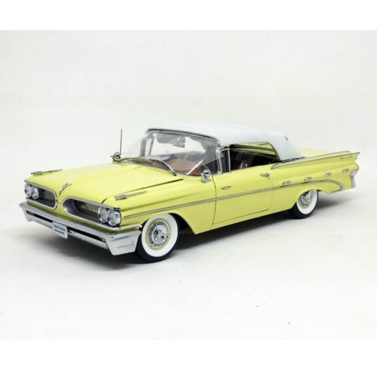 Miniatura Carro Pontiac Bonneville Closed Convertible (1959) - 1:18 - Sun Star