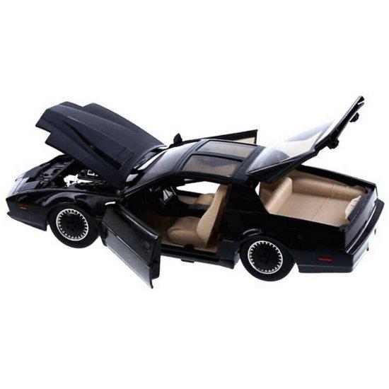Pontiac Firebird Trans Am K.I.T.T Knight Rider con luz 1:24 jada Toys 30086