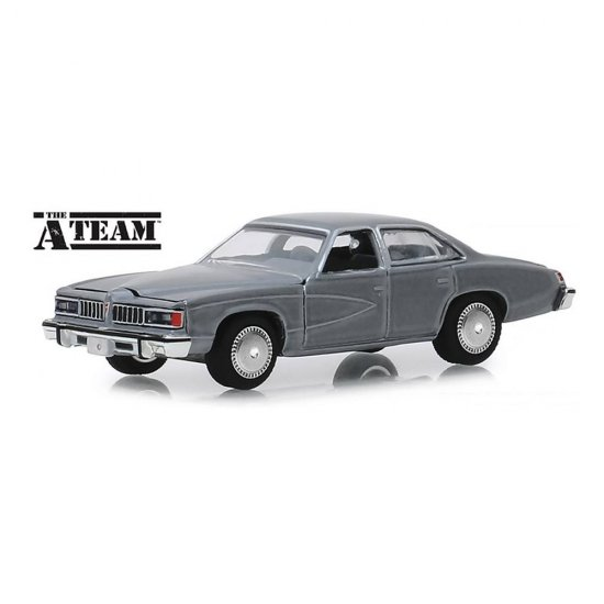 Miniatura Carro Pontiac Lemans (1977) - The A-Team - Hollywood - Série 25 - 1:64 - Greenlight