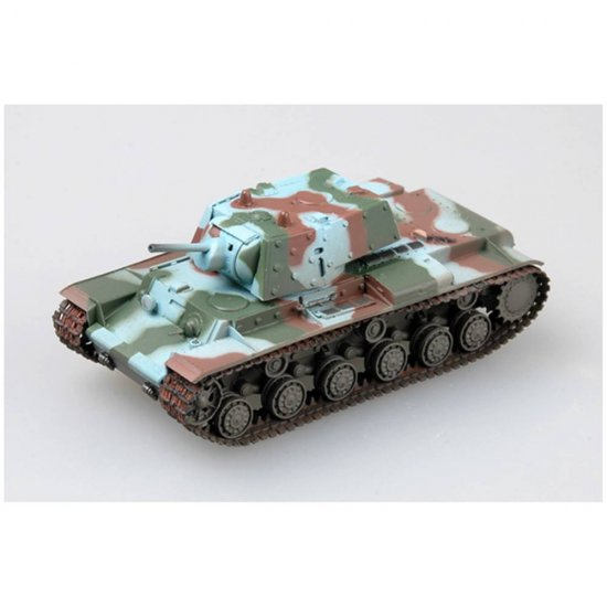 Miniatura Tanque Finnish Army KV-1E Heavy Tank - 1:72- Easy Model