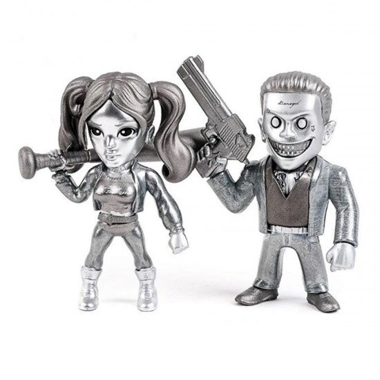 Bonecos The Joker Boss and Harley Quinn M23 - Esquadrão Suicida - DC Comics - Metals Die Cast (2 Pack) - Jada Toys