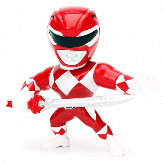 Boneco Red Ranger M400 - Mighty Morphin Power Rangers - Metals Die Cast - Jada Toys