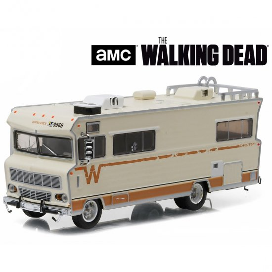 Motorhome Winnebago Chieftain (1973) - The Walking Dead AMC - 1:64 - Greenlight