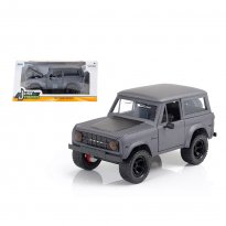 Imagem - Miniatura Carro Ford Bronco (1973) - Grafite - Just Trucks - 1:24 - Jada Toys