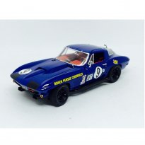 Imagem - Corvette: Stingray Competition (1966) #9 - Azul - 1:18 - Exoto