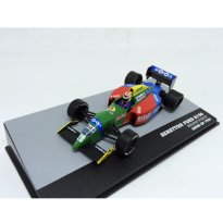 Imagem - Miniatura Carro Benetton Ford B190 - Nelson Piquet #20 - Japan GP (1990) - 1:43 - Ixo