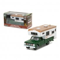 Imagem - Miniatura Carro Dodge D100 (1967) & Winnebago Slide-in Camper - 1:64 - Greenlight