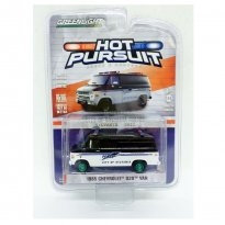 Imagem - Chevrolet: G20 Van (1985) - Hot Pursuit - Série 24 - 1:64 - Greenlight (Chase/ Green Machine)