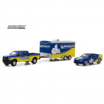 Imagem - Miniatura Set Dodge Ram 2500 & Dodge Charger SRT Hellcat (2017) c/ Car Hauler - Hitch & Tow Racing - Série 1 - 1:64 - Greenlight
