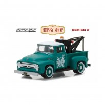 Imagem - Miniatura Picape Ford F-100 (1956) - The Hobby Shop - Series 2 - 1:64 - Greenlight