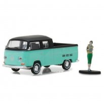 Imagem - Miniatura Carro Volkswagen Kombi Type 2 c/ Figura - The Hobby Shop - Series 2 - 1:64 - Greenlight