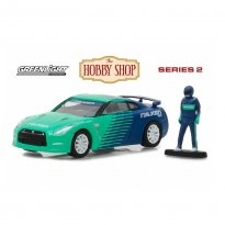 Imagem - Miniatura Carro Nissan GT-R (2015) c/ Figura - The Hobby Shop - Series 2 - 1:64 - Greenlight