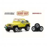 Imagem - Miniatura Carro Jeep Wrangler YJ (1991) - The Hobby Shop - Series 3 - 1:64 - Greenlight