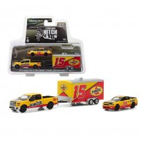 Imagem - Miniatura Set Ford F-150 (2015) & Shelby GT500 (2012) c/ Trailer - Hitch & Tow Racing - Série 1 - 1:64 - Greenlight