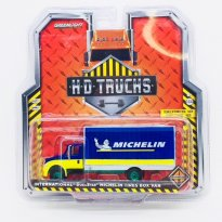Imagem - Miniatura Caminhão International DuraStar - Michelin - HD Trucks - Série 12 - 1:64 - Greenlight (Chase / Green Machine)