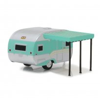 Imagem - Miniatura Trailer Catolac Deville Travel (1959) - Hitched Homes - Série 5 - 1:64 - Greenlight