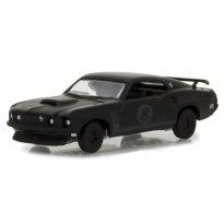 Imagem - Miniatura Carro Ford Mustang Trans AM Racing Team #8 (1969) - Black Bandit - Série 19 - 1:64 - Greenlight