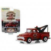 Imagem - Miniatura Picape Ford F-100 Tow Truck (1956) - The Busted Knuckle Garage - Hollywood - Série 1 - 1:64 - Greenlight