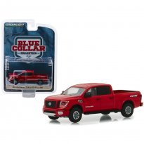 Imagem - Miniatura Picape Nissan Titan XD Pro-4x (2018) - Blue Collar Collection - Série 5 - 1:64 - Greenlight