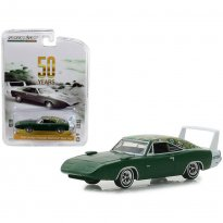 Imagem - Miniatura Carro Dodge Charger Daytona Mod Top (1969) - 50th Years Anniversary - 1:64 - Greenlight