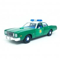 Imagem - Miniatura Carro Plymouth Fury (1975) - Arkansas State Police - Smokey And The Bandit - 1:24 - Greenlight Collectibles (Chase)