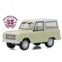 Imagem - Ford: Bronco (1966) - Creme - 50th Anniversary Edition - 1:64 - Greenlight