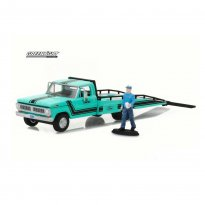 Imagem - Ford: F-350 (1970) Ramp Truck & Truck Driver - 1:64 - Greenlight