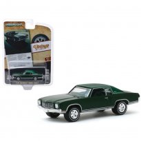 Imagem - Miniatura Carro Chevrolet Monte Carlo (1970) - Verde - Vintage AD Cars - Série 2 - 1:64 - Greenlight Collectibles
