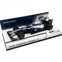 Imagem - Williams Cosworth F1: FW33 - P. Maldonado (2011) - 1:43 - Minichamps