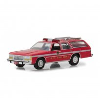 Imagem - Miniatura de Carro - Ford Ltd Crown Victoria - Fire Departament (Bombeiro) - 1:64 - Greenlight