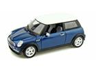 Miniatura Carro Mini Cooper Azul - 1:24 - New Ray