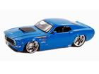 Ford: Mustang Boss 429 (1970) - Azul - 1:24