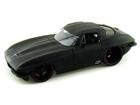 Chevrolet: Corvette Sting Ray (1963) - Preto Fosco - 1:18