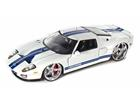 Ford: GT (2005) - Branco - Bigtime Kustoms - 1:24