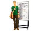Imagem - Boneco Sheldon Cooper - Green Lantern (Lanterna Verde) - The Big Bang Theory - 18 cm