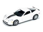 Miniatura Carro Chevrolet Callaway Corvette (2011) - Branco - Top Gear BBC - 1:64 - Auto World