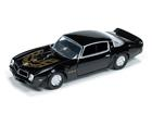 Imagem - Miniatura Carro Pontiac Firebird T/A (1976) - Preto - Car and Driver - 1:64 - Auto World