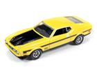 Imagem - Ford: Mustang Mach 1 (1971) - Amarelo - Muscle Machines - 1:64
