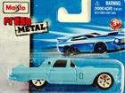 Ford: Thunderbird (1956) - Azul - Fresh Metal - 8 cm - Maisto