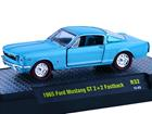 Imagem - Ford: Mustang Gt 2+2 Fastback (1965) - Azul - 1:64 - M2 Machines