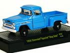 Imagem - Chevrolet: Apache Step Side (1958) Pickup - Azul - 1:64 - M2 Machines