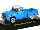 Imagem - Chevrolet: Apache Pickup Step Side (1958) Auto-Trucks - Azul - 1:64 - M2 Machines