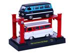 Imagem - Set Miniatura Ford Falcon Club Wagon (1965) - Preto/ Branco - 1:64 - Auto Lift - M2 Machines