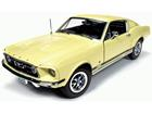 Imagem - Miniatura Carro Ford Mustang GT 2+2 (1967) 50th Anniversary - Creme - 1:18 - Auto World