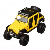 Imagem - Miniatura Carro Jeep Wrangler Unlimited (2015) - Amarelo - OFF Road Kings - 1:24 - Maisto Design