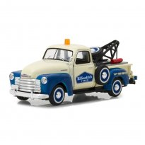 Imagem - Miniatura Picape Chevrolet 3100 Tow Truck (1953) - BFGoodrich - Running On Empty - Série 1 - 1:43 - Greenlight