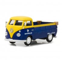 Imagem - Miniatura Picape Volkswagen Kombi / Type 2 (T1) Pickup - Michelin - Running On Empty - Série 1 - 1:43 - Greenlight